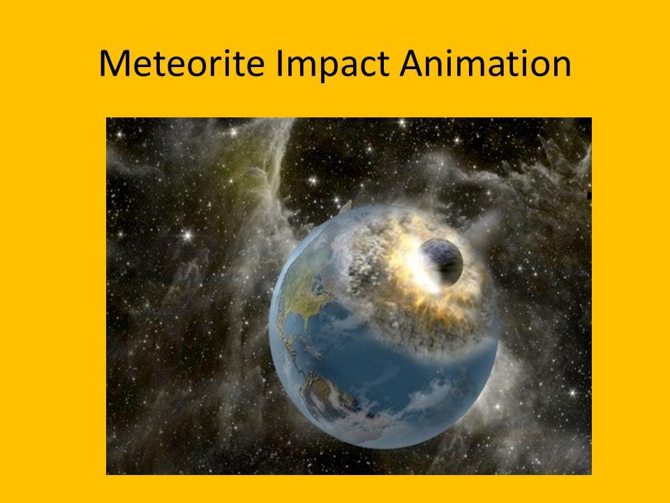 Meteorite Impact Animation