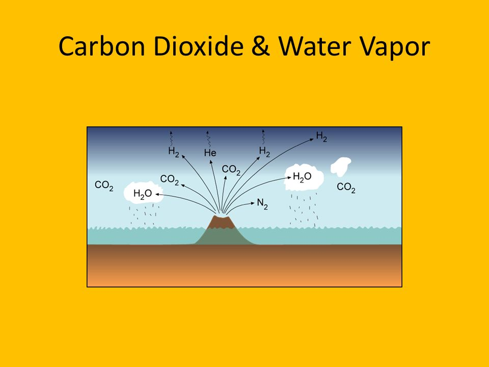 Carbon Dioxide & Water Vapor