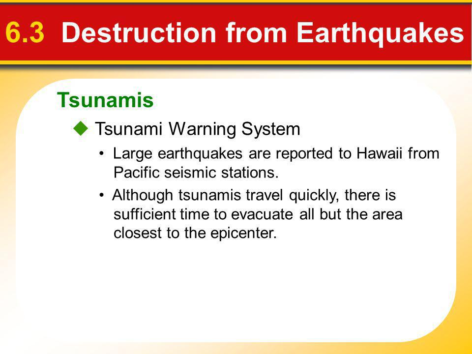 6.3 Destruction from Earthquakes