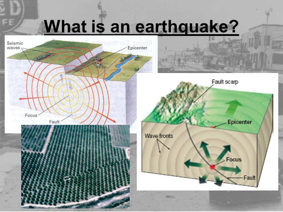 What is an earthquake
