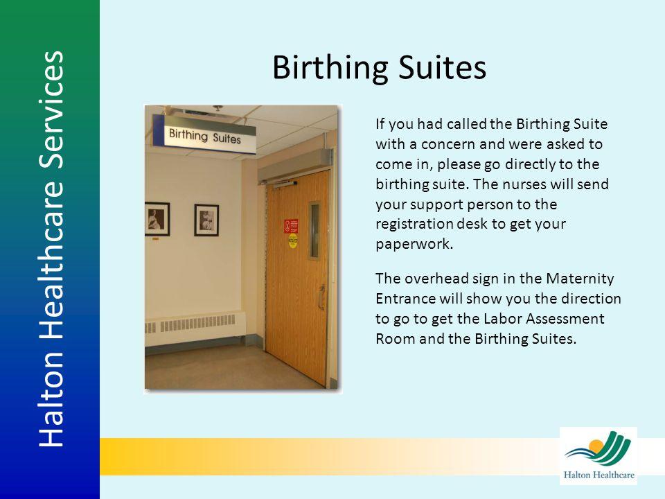 Birthing Suites