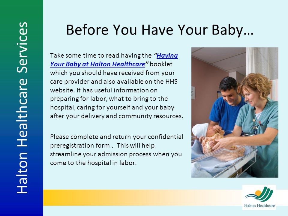 Before You Have Your Baby…