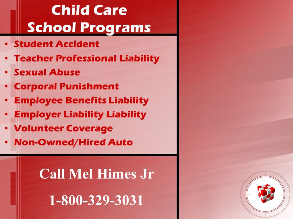 Child Care School Programs