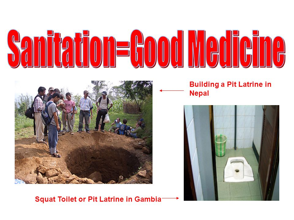 Sanitation=Good Medicine