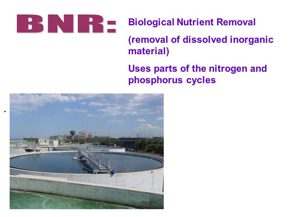 BNR: Biological Nutrient Removal