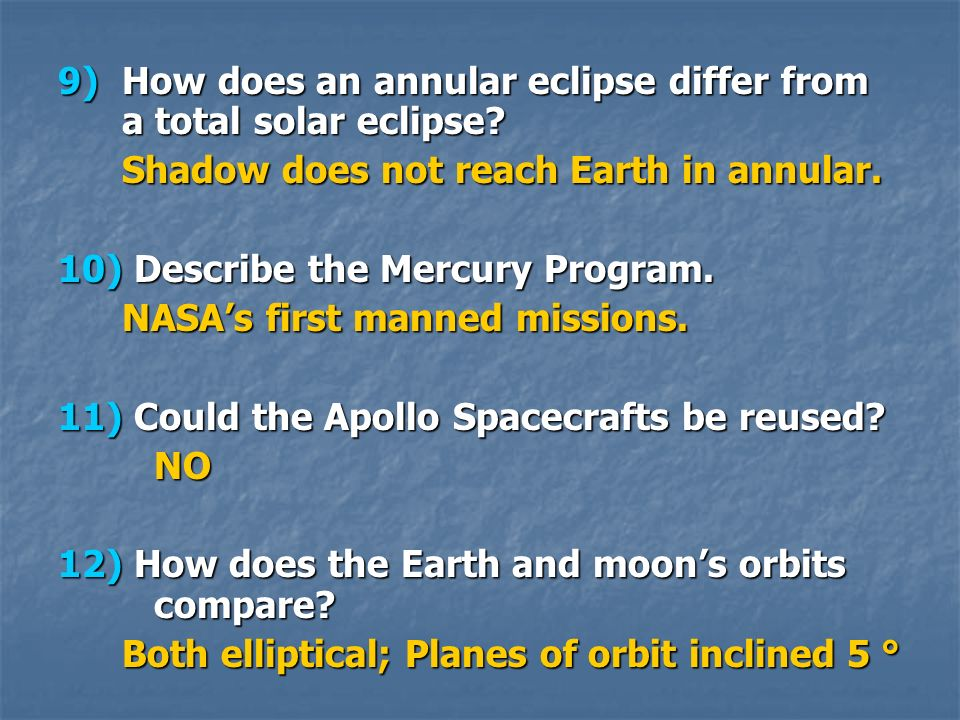 How does an annular eclipse differ from a total solar eclipse