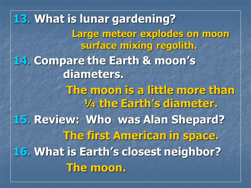 The moon is a little more than ¼ the Earth's diameter.