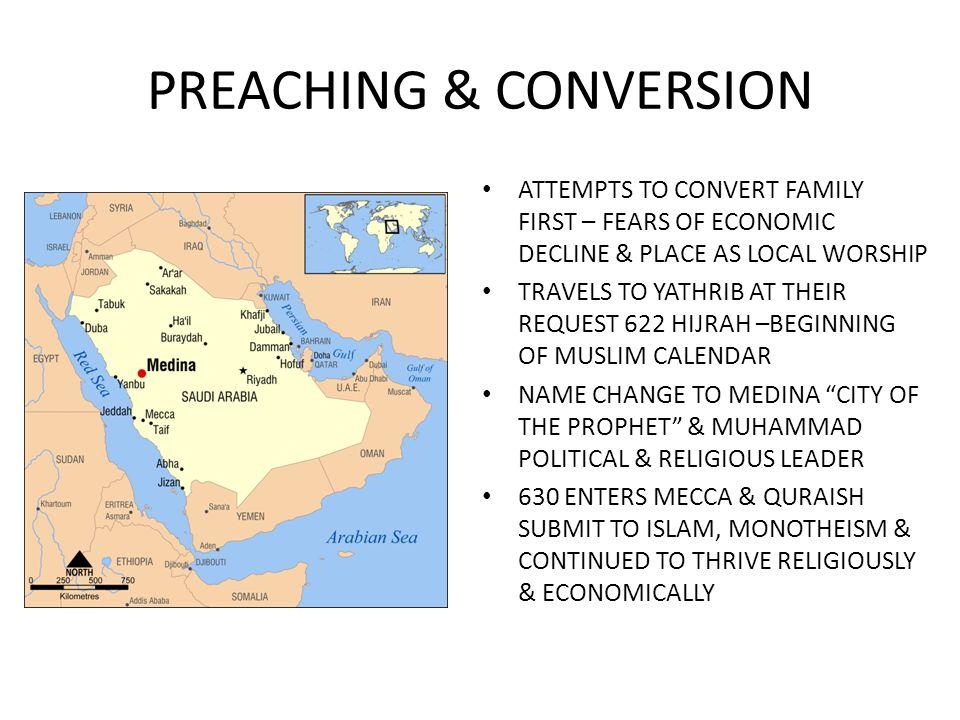 PREACHING & CONVERSION