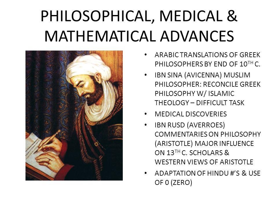 PHILOSOPHICAL, MEDICAL & MATHEMATICAL ADVANCES