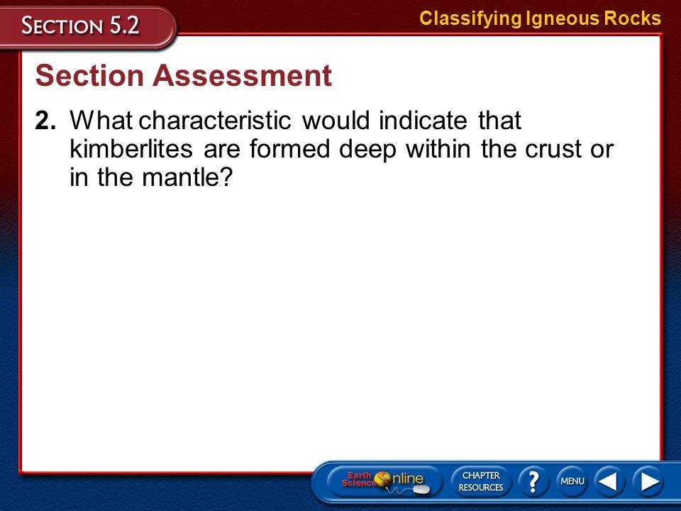 Classifying Igneous Rocks