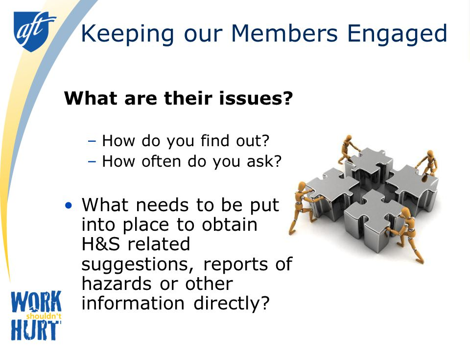 Keeping our Members Engaged