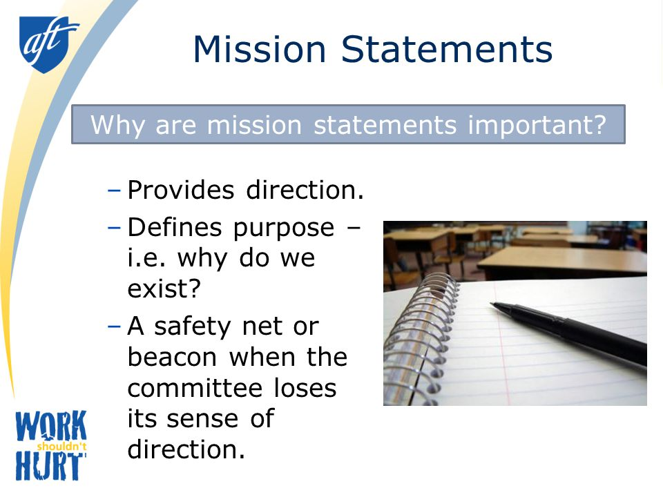 Why are mission statements important