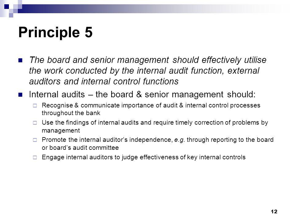 Principle 5