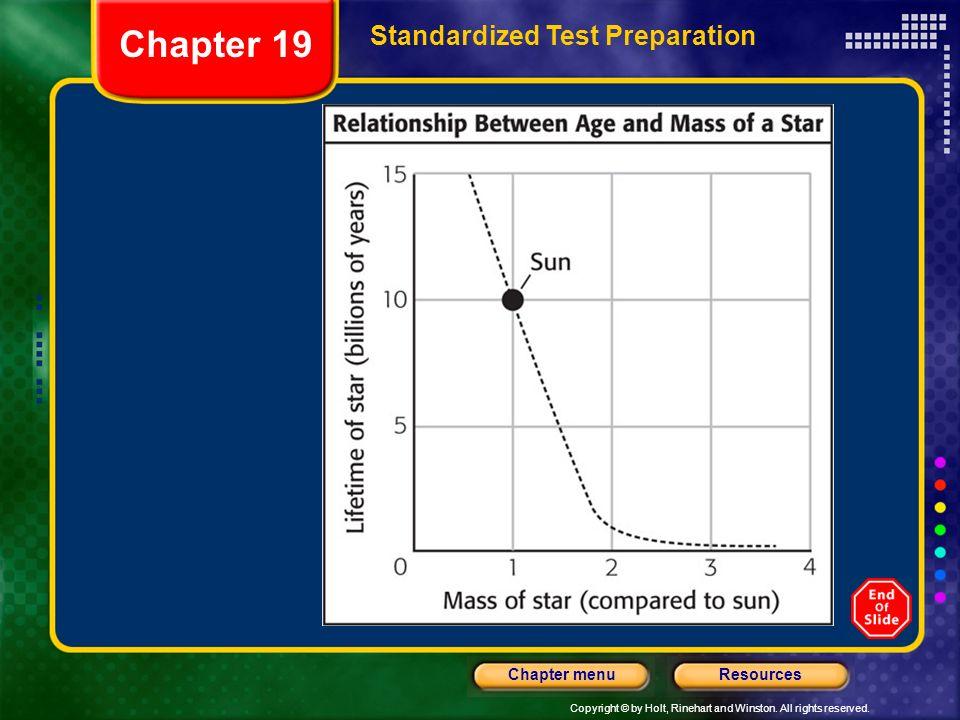 Chapter 19 Standardized Test Preparation