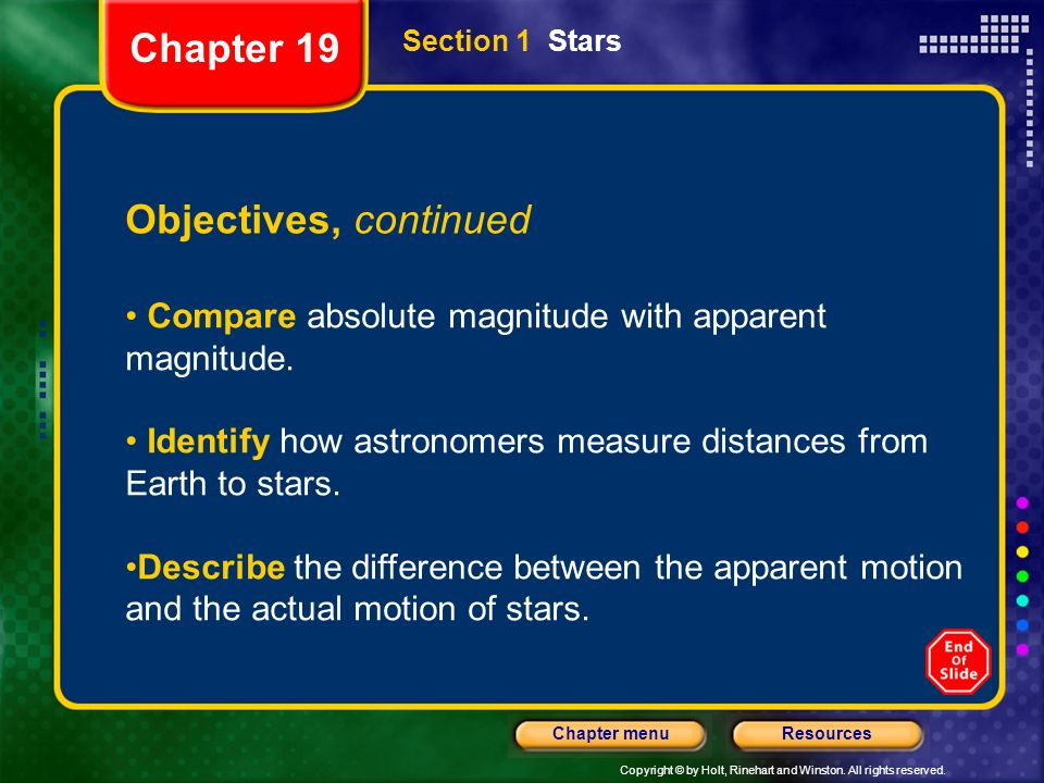 Chapter 19 Objectives, continued