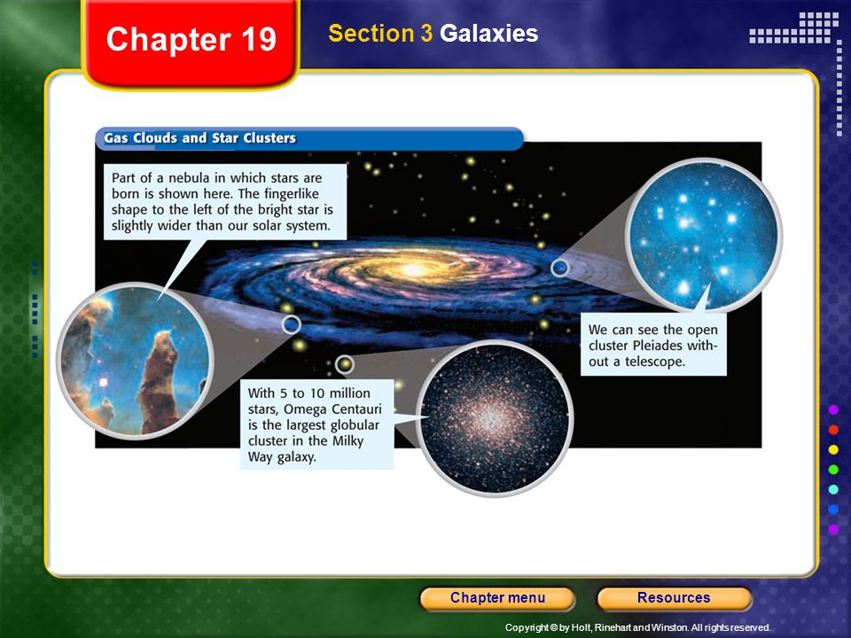 Chapter 19 Section 3 Galaxies