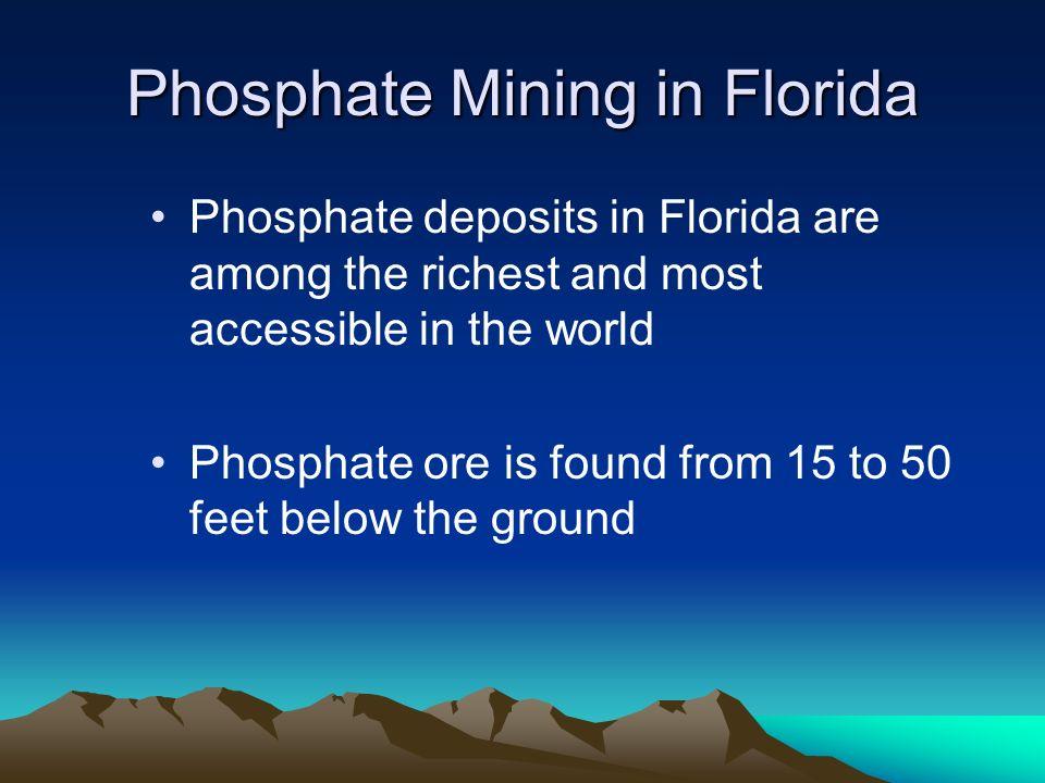 Phosphate Mining in Florida
