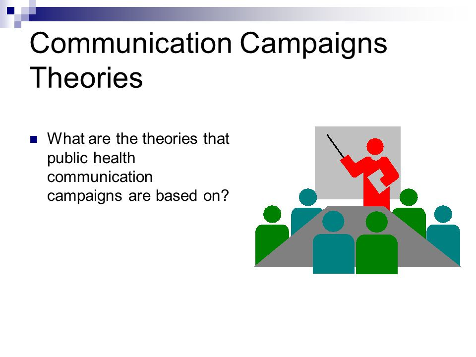 Communication Campaigns Theories