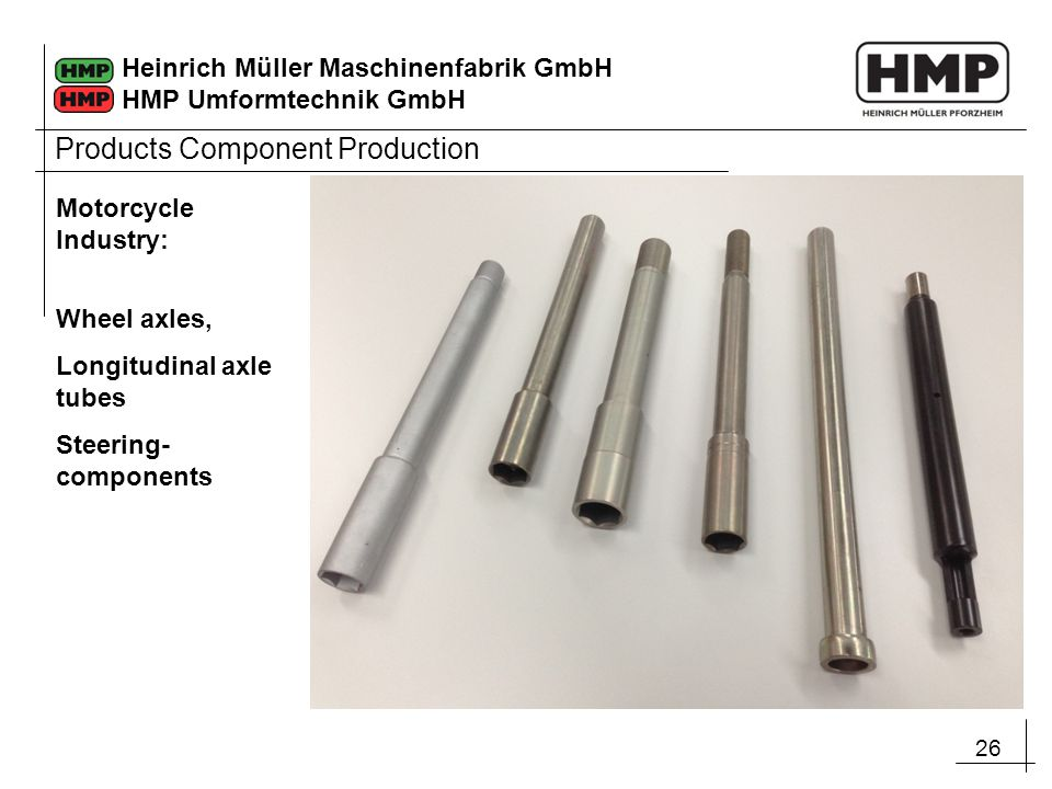 Products Component Production