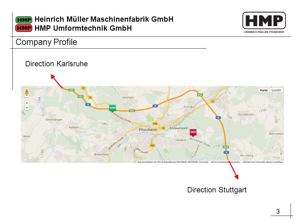 Company Profile Direction Karlsruhe Direction Stuttgart