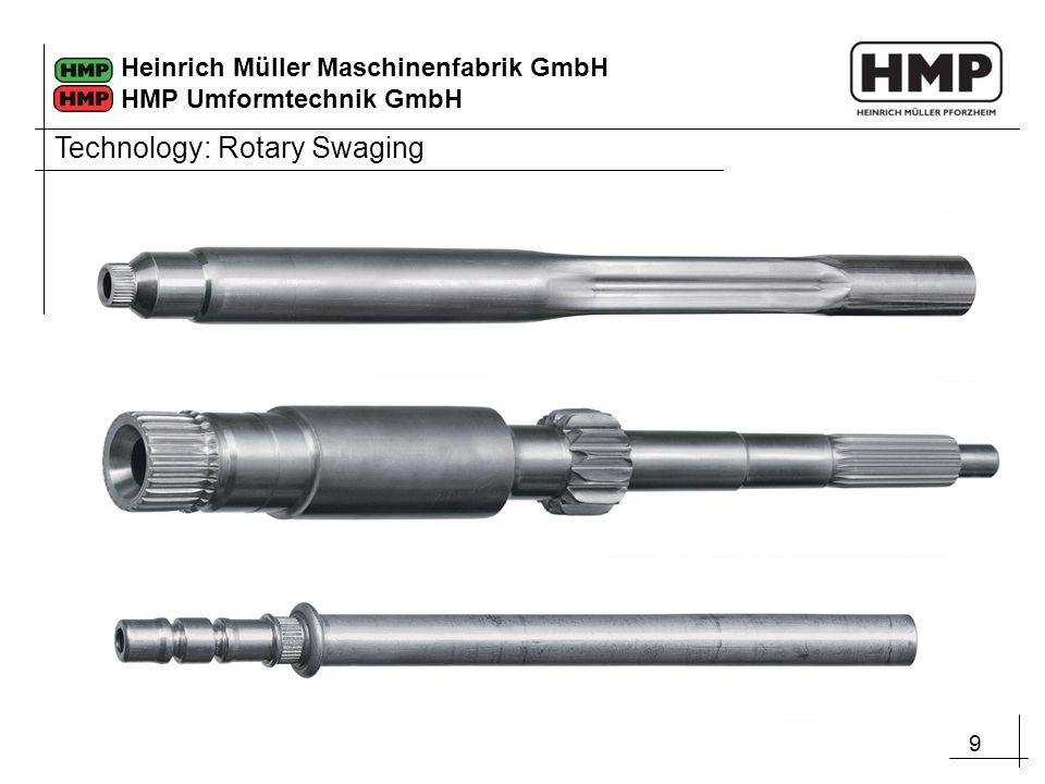 Technology: Rotary Swaging