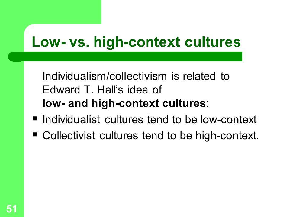 Low- vs. high-context cultures