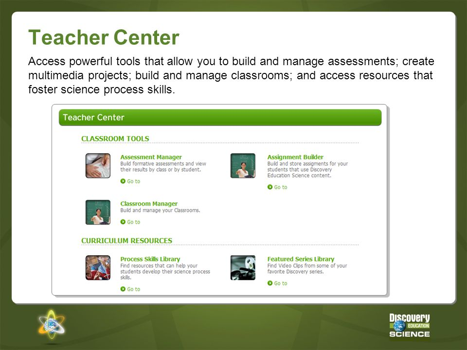 Teacher Center