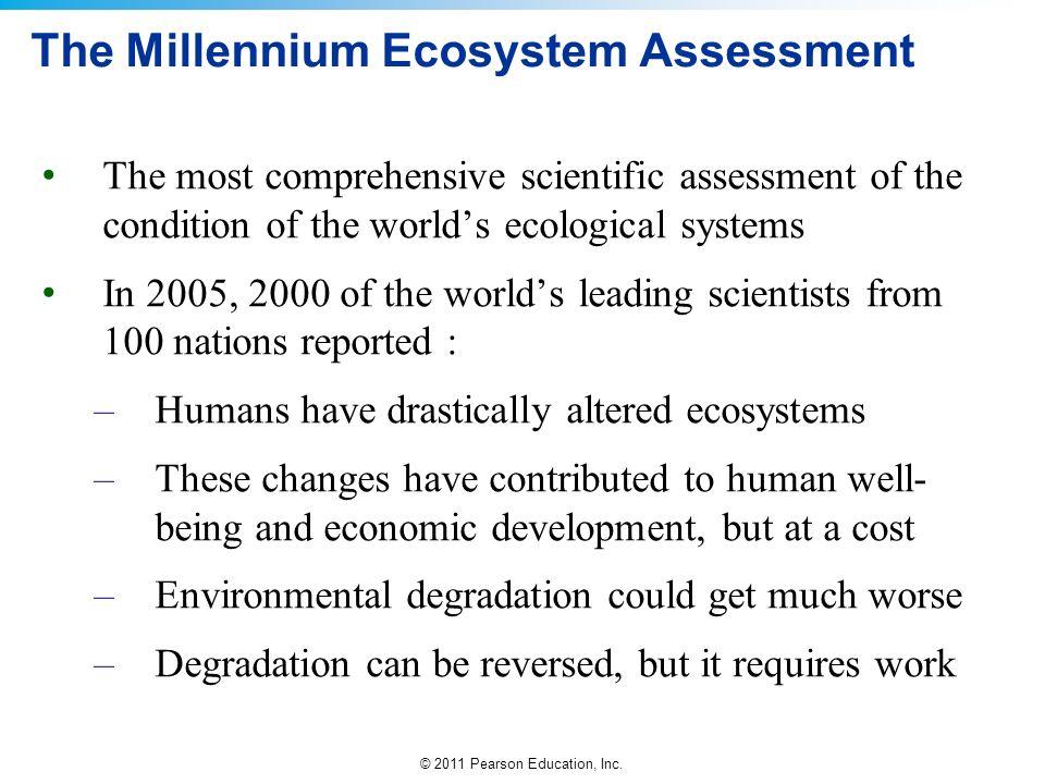 The Millennium Ecosystem Assessment