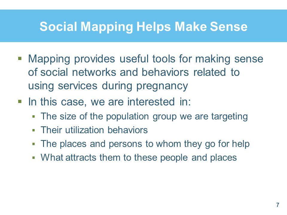 Social Mapping Helps Make Sense