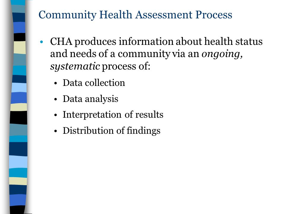 Community Health Assessment Process