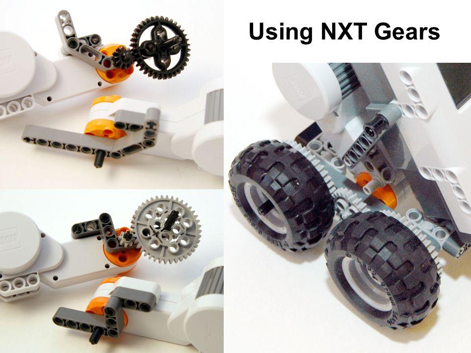 Using NXT Gears