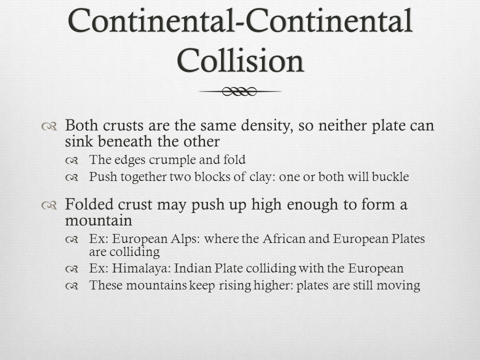 Continental-Continental Collision