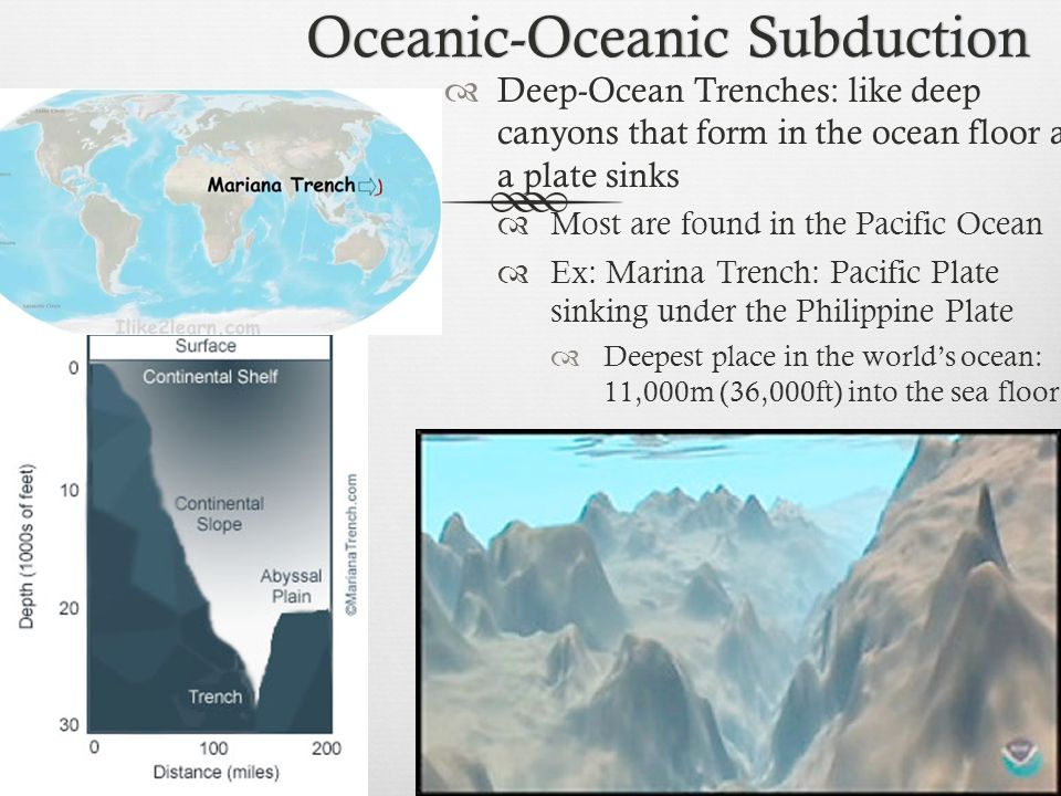 Oceanic-Oceanic Subduction