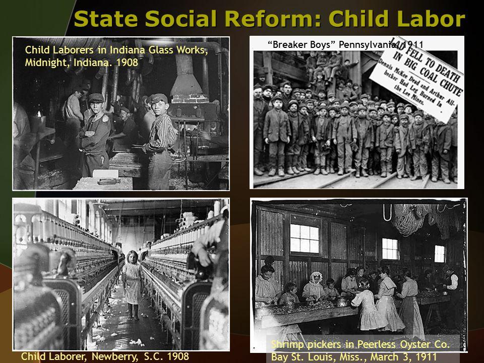 State Social Reform: Child Labor