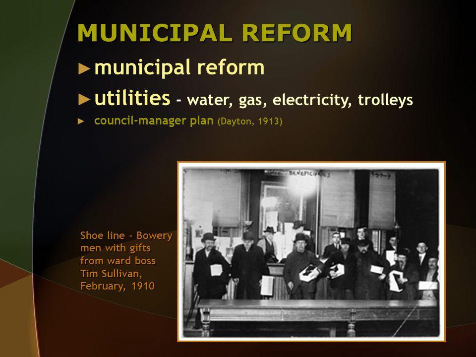 MUNICIPAL REFORM municipal reform
