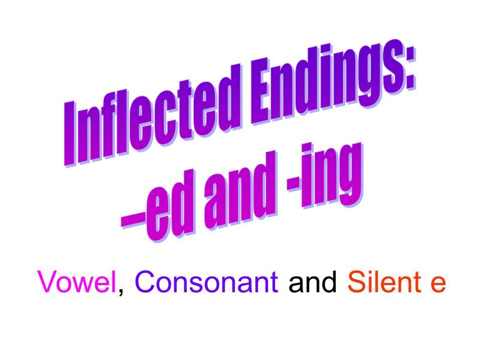 Vowel, Consonant and Silent e