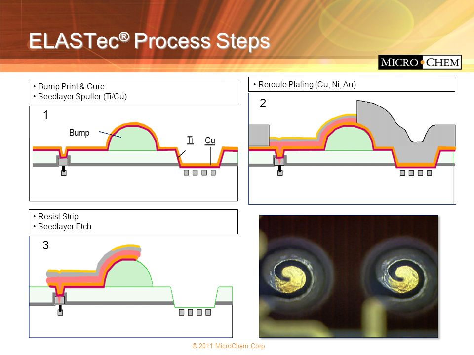 ELASTec® Process Steps
