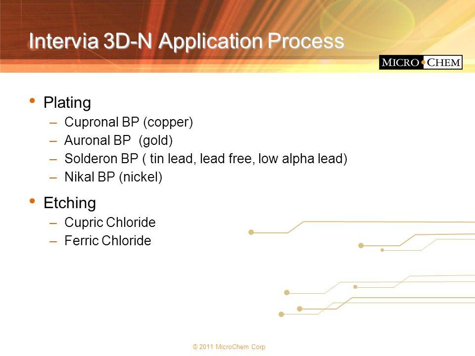 Intervia 3D-N Application Process