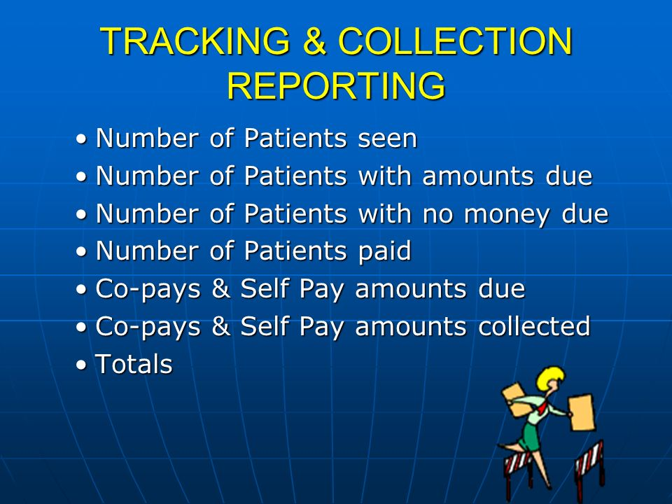 TRACKING & COLLECTION REPORTING
