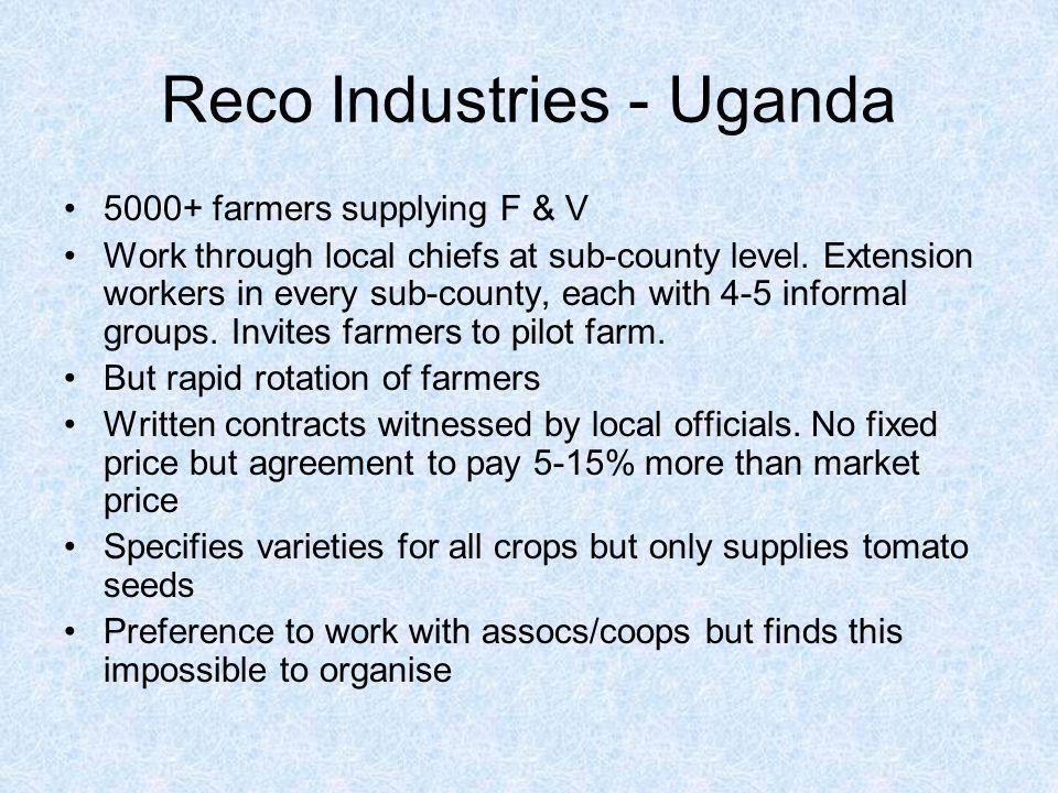 Reco Industries - Uganda