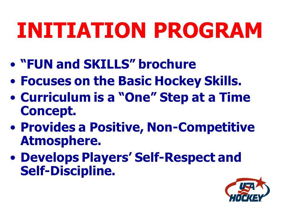 INITIATION PROGRAM FUN and SKILLS brochure