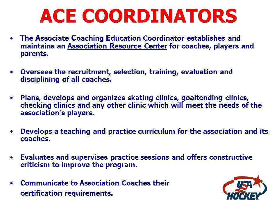 ACE COORDINATORS