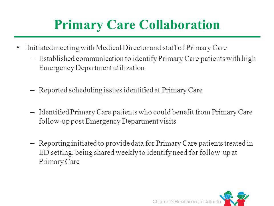 Primary Care Collaboration