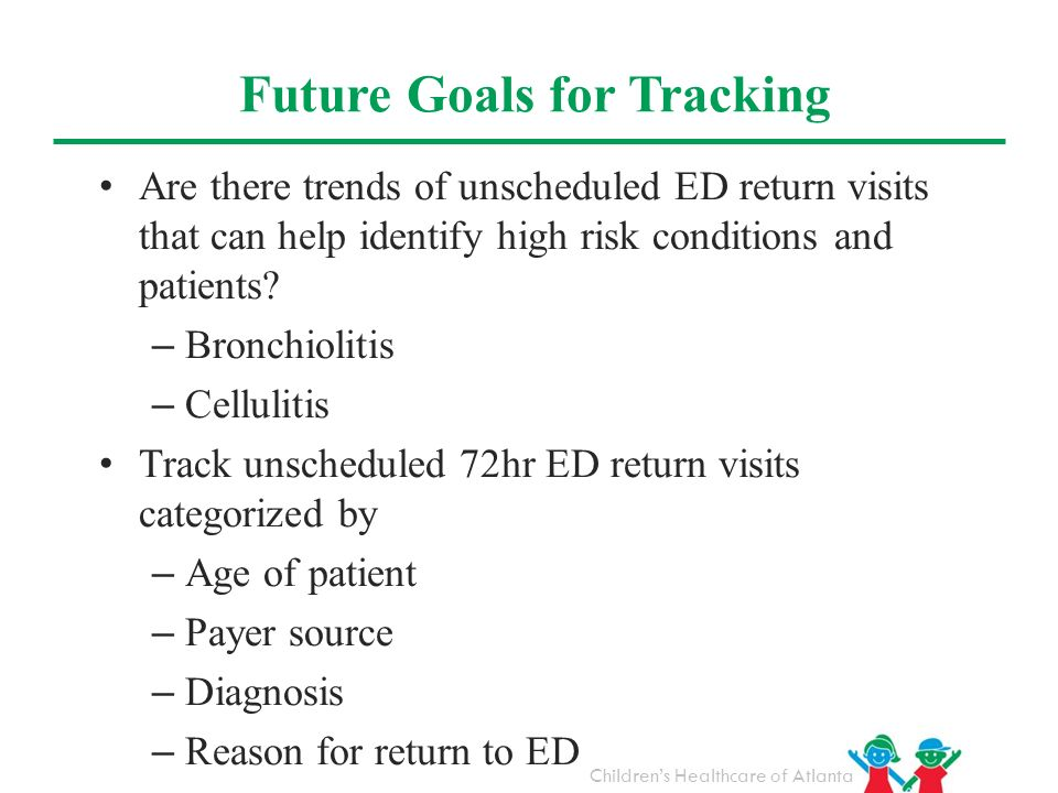 Future Goals for Tracking