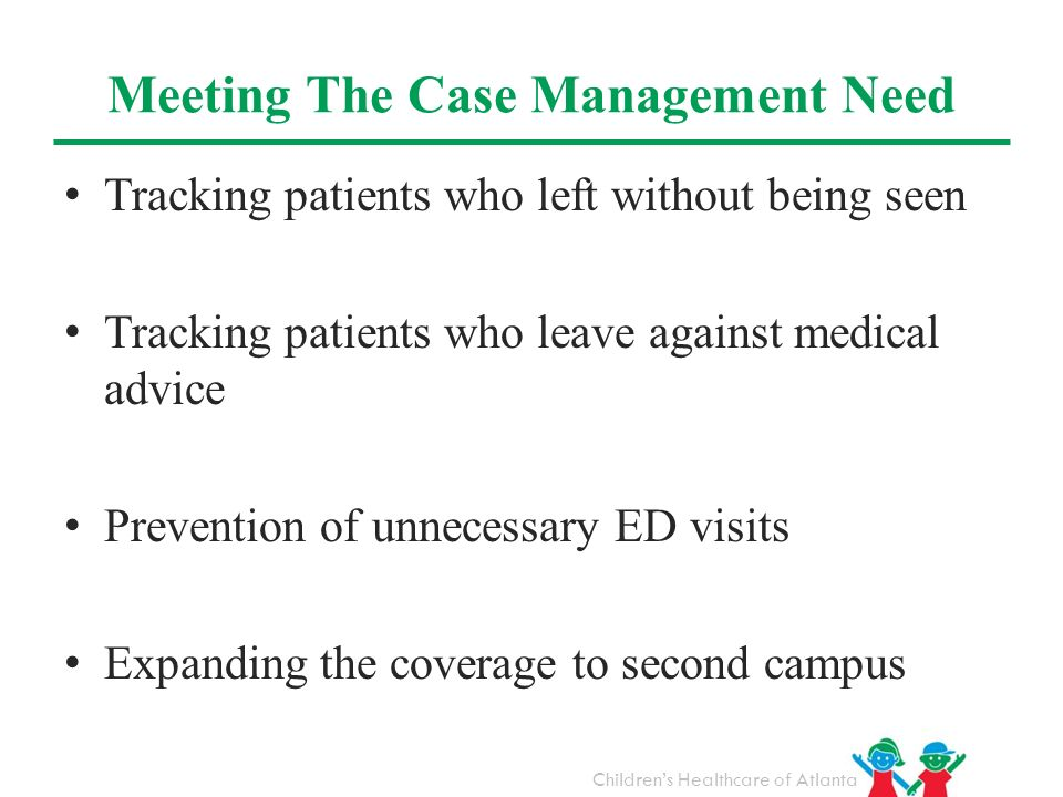 Meeting The Case Management Need
