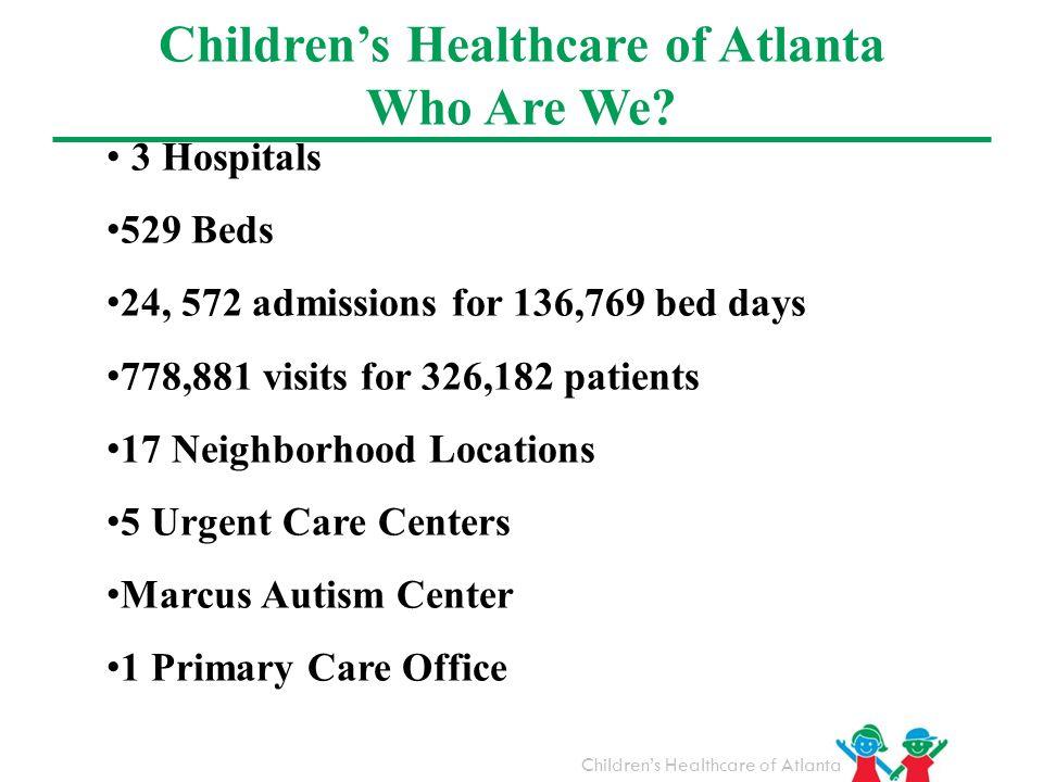 Children's Healthcare of Atlanta Who Are We
