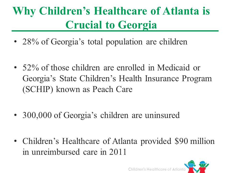 Why Children's Healthcare of Atlanta is Crucial to Georgia