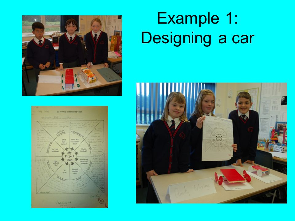 Example 1: Designing a car