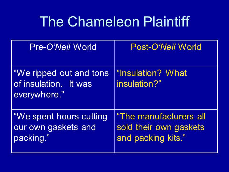 The Chameleon Plaintiff