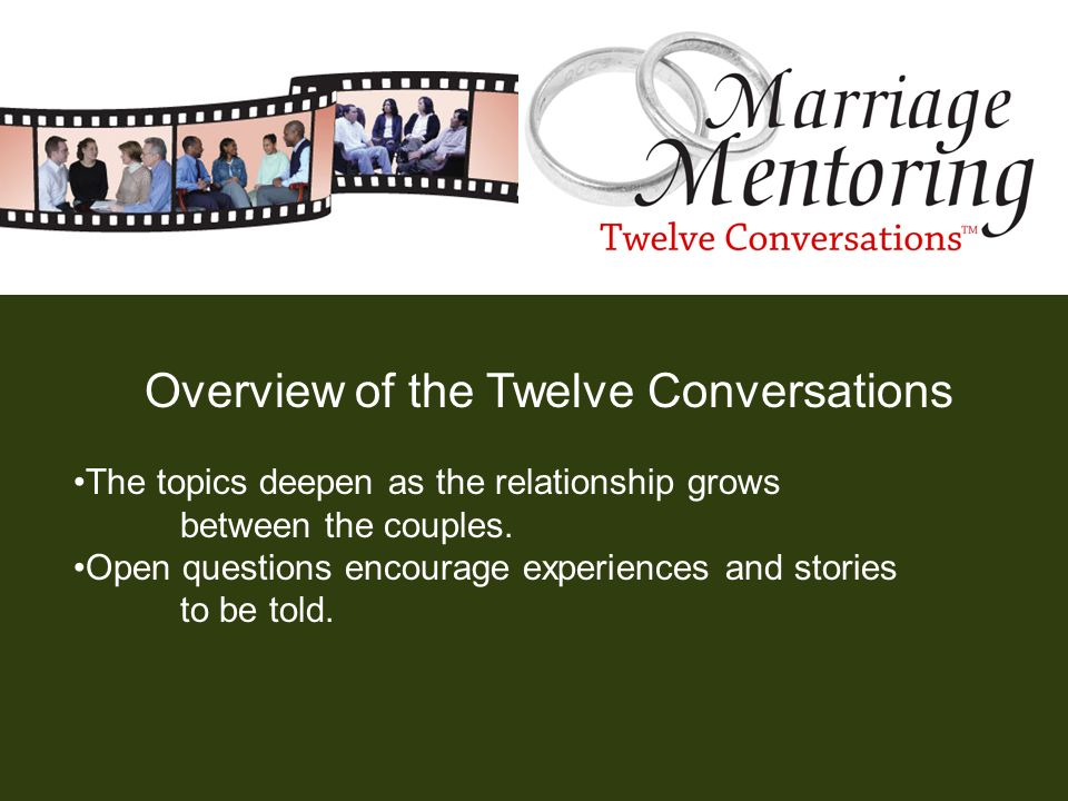 Overview of the Twelve Conversations